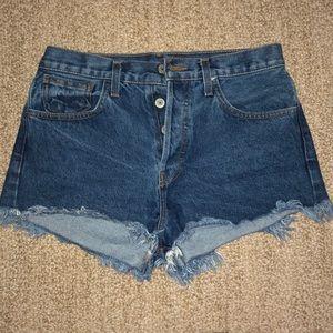 Brandy Melville Jean Shorts - Medium Wash